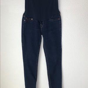True Religion Maternity Skinny Jeans.  Size 30